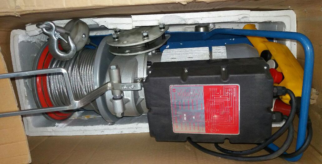 Тали электрические с ручным передвижением серии HSG