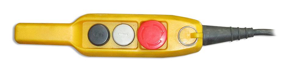 Таль электрическая с ручным передвижением серии HSG - пульт